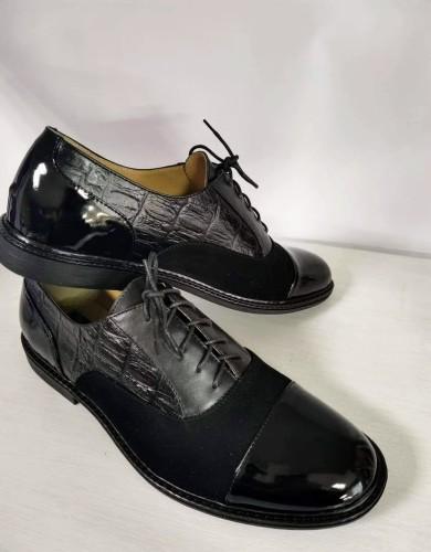 """Klasikiniai oxford stiliaus batai """"Paslaptis"""""""