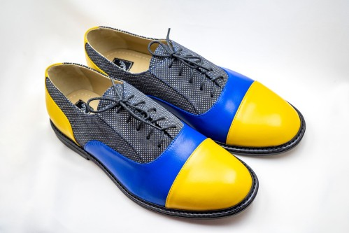 """Klasikiniai oxford stiliaus batai """"Spalvos"""""""