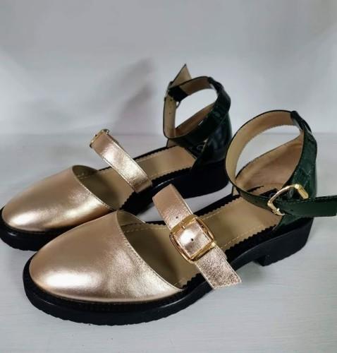 "Patogieji sandalai ""Auksas"""