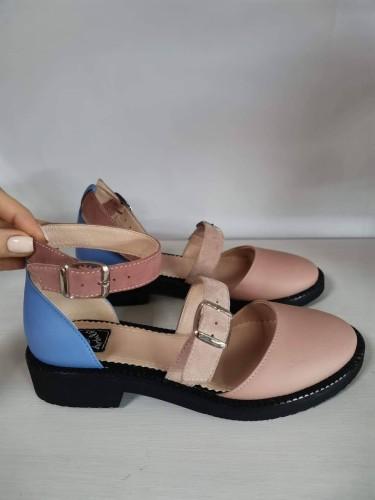 """Patogieji sandalai """"Dangaus žydrynė"""""""