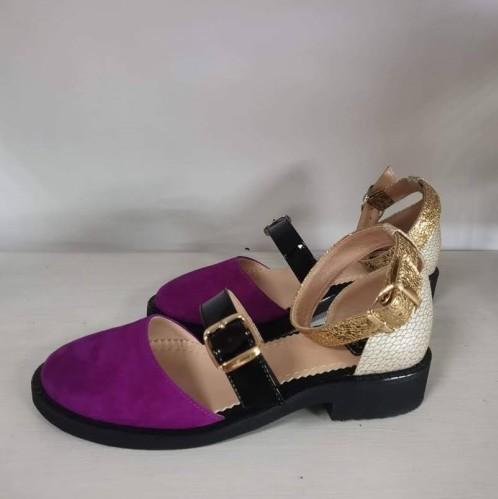 "Patogieji sandalai ""Fuksija"""