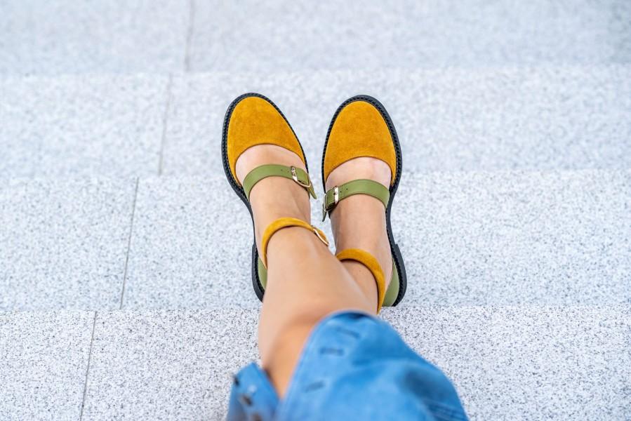 "Patogieji sandalai ""Gamta"""