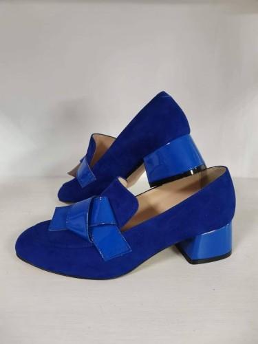 """Elegantiški bateliai """"Mėlyna klasika"""""""