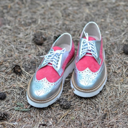 Oxford Shoes SILVER CANDY